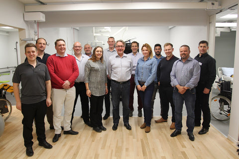 Guldmann sales training team