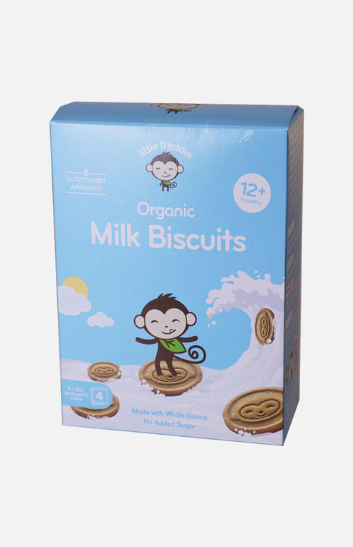 Little Freddie Organic Milk Biscuits