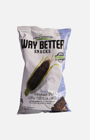 Way Better Snacks Blue Corn Tortilla Chips