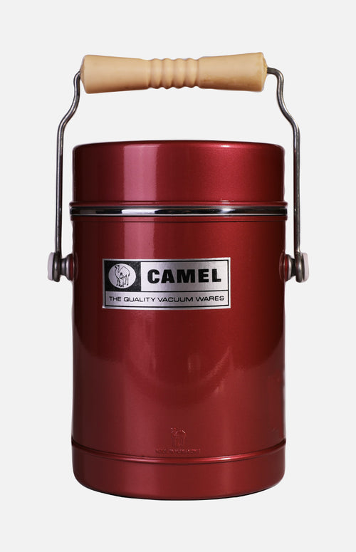 Camel 578 Vacuum Food Jar  (1.5L) - Red