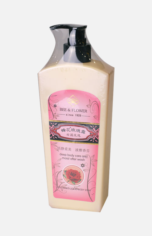 Bee & Flower Rose Fragance Body Soap  (500g)