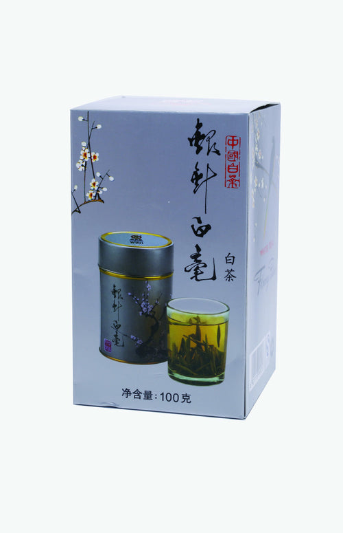 Butterfly Brand White Hair Silver Needle White Tea (100g/tin)