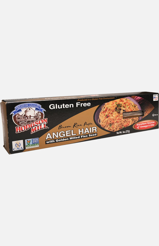 Hodgson Mill Gluten Free Angel Hair with Golden Milled Flax Seed