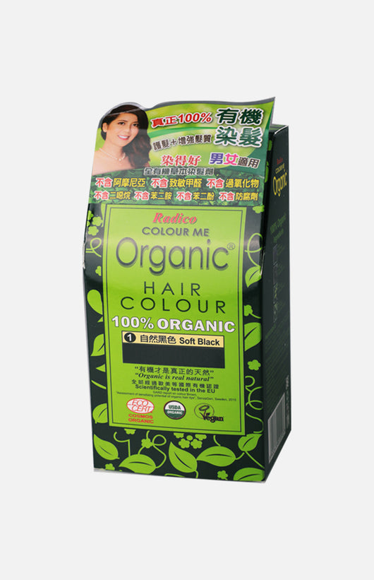 Radico Colour Me Organic Hair Colour-Soft Black