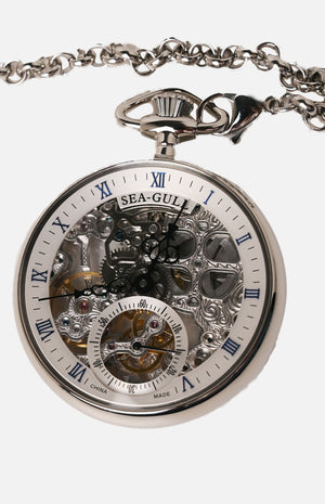 SeaGull M3600SK Mechanical Pocket Watch