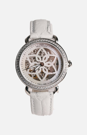 SeaGull 813.96.5046L Ladies Watch with Gemstones