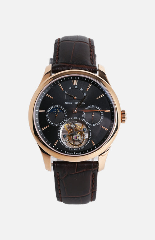 SeaGull Tourbillon Mechanical Watch (518.937BK)