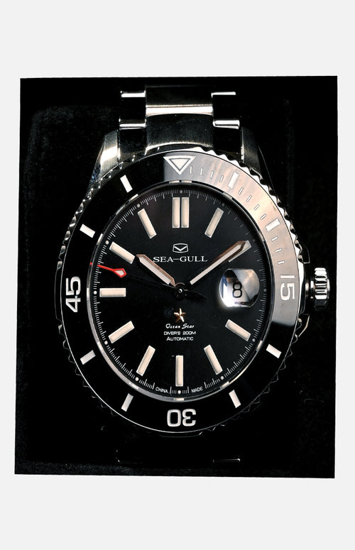 Sea-Gull Ocean Star Automatic Watch with Ceramic Bezel (416 22 1201)