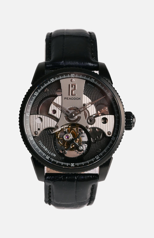 Peacock P501-2 Tourbillon Movement Watch