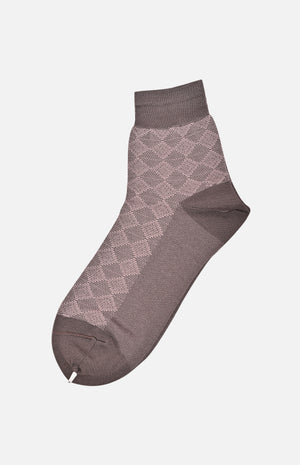 Mercerized Cotton Socks(Black)