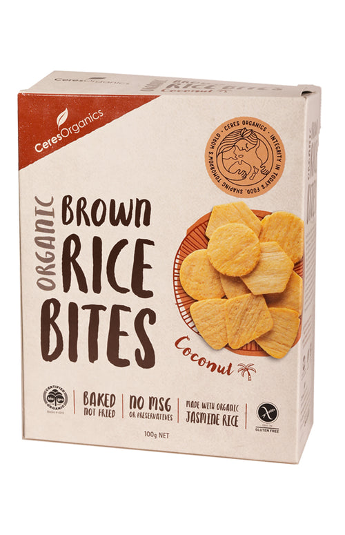 Ceres Organics Organic Brown Rice Bites Coconut