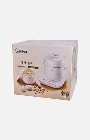 Midea 0.8L Ceramic Stewing & Steaming Cooker (MD-8101F)