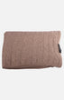Cashmere Knit Shawl(Light Brown)