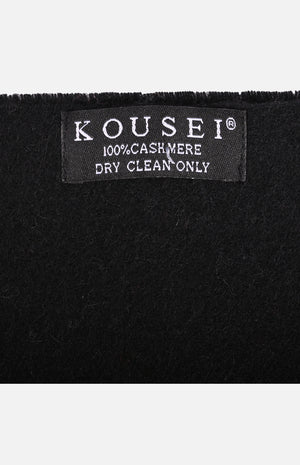 Cashmere Shawl(Black)