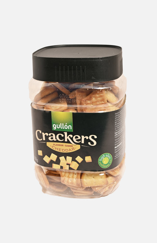 Gullon Crackers Cheddar
