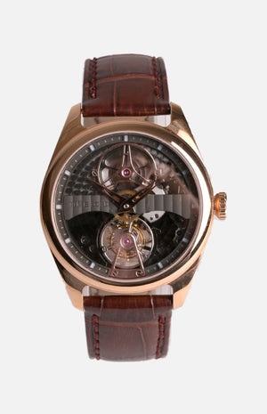 Time Lord Tourbillon Watch (TLD-D5620A2-RG)