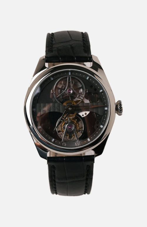 Time Lord Tourbillon Watch (TLD-D5620A1-SS)
