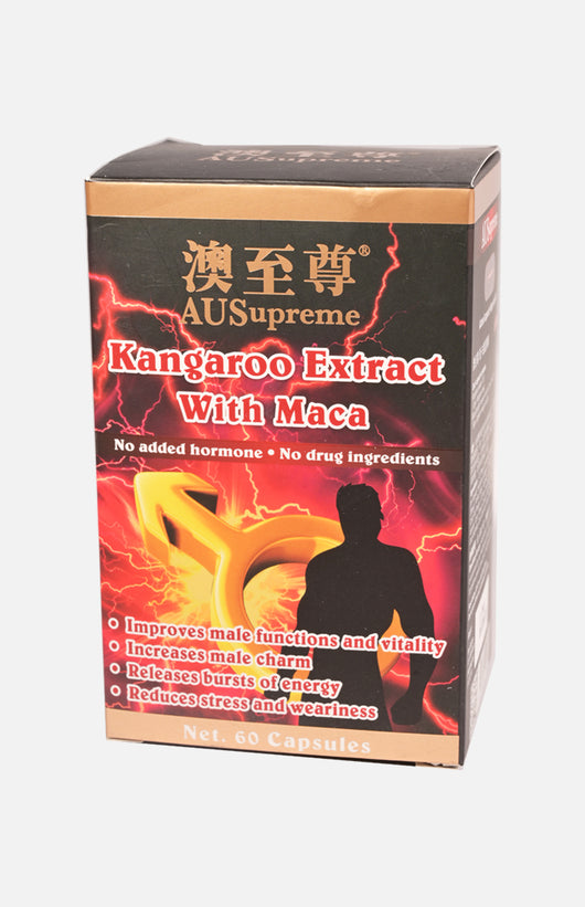 Ausupreme Kangaroo Extract with Maca 60 tablets(3 Btl Set)