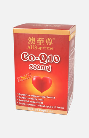Ausupreme Co-Q10 300mg 60 tablets(5 Btl Set)