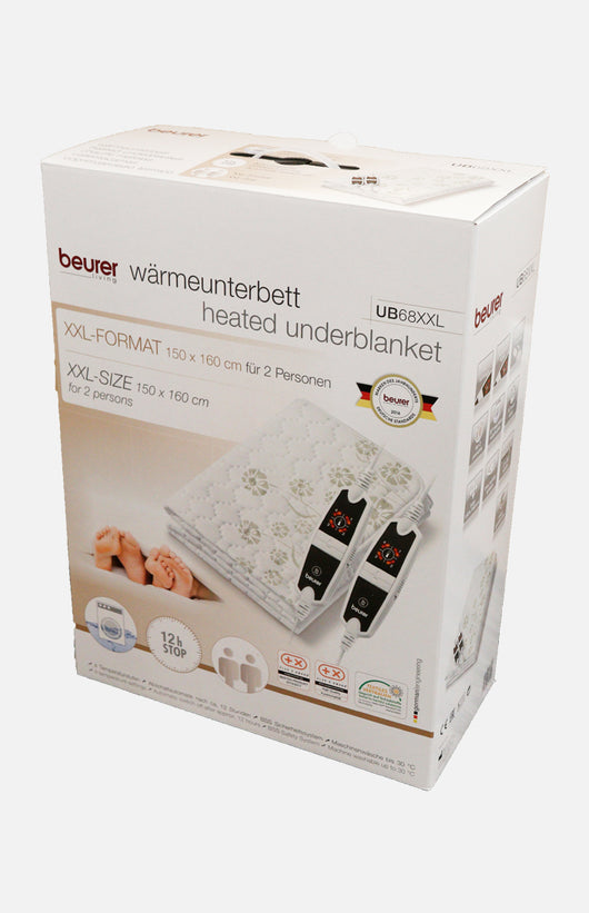 Beurer Heated Double Underblanket (UB68XXL)