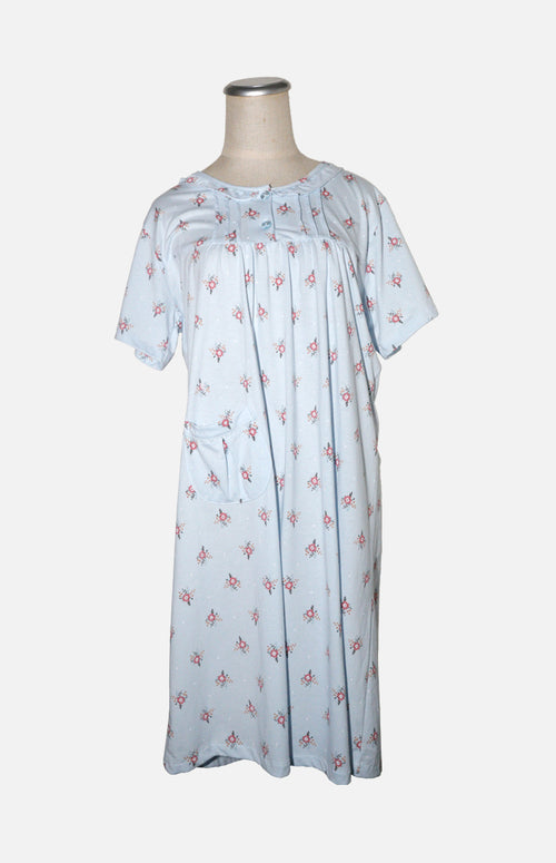 Cotton Short sleeves, Nightgown