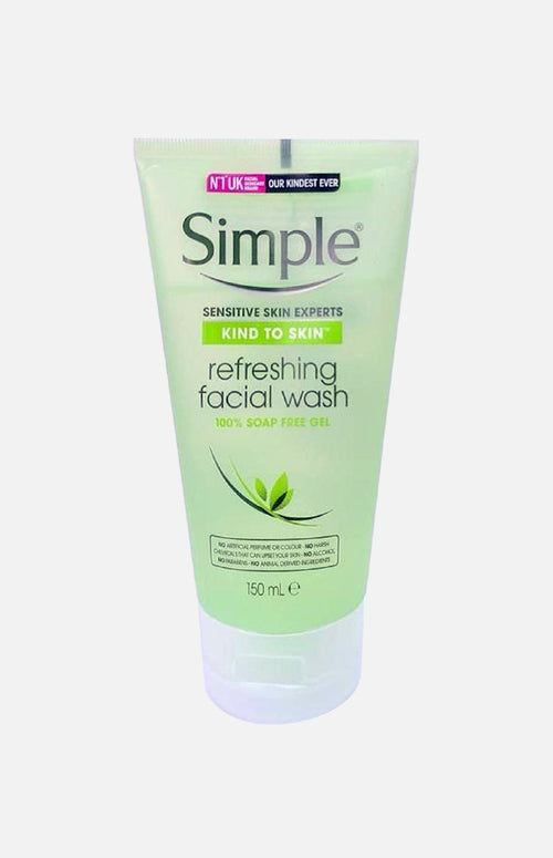 SIMPLE KIND TO SKIN REFRESHING FACIAL WASH GEL