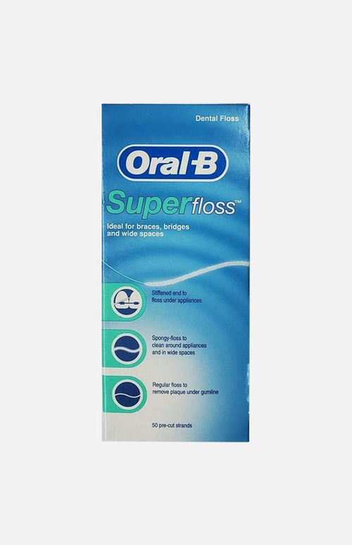 ORAL B SUPER FLOSS PRE CUT STRANDS