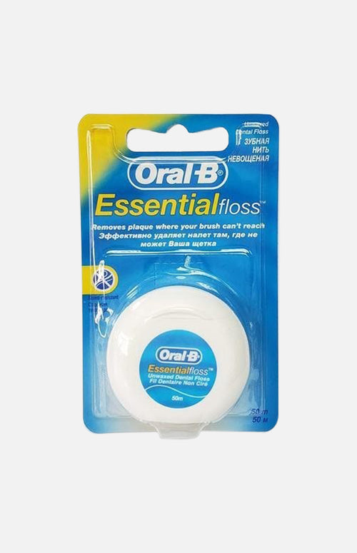 ORAL B FLOSS ESSENTIAL REGULAR NON WAX