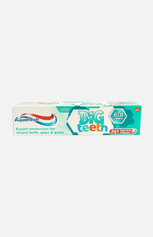 AQUAFRESH BIG TEETH TOOTHPASTE (6+ YEARS)