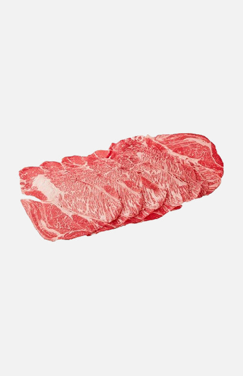 US Grain-Fed Prime Sliced Beef Chuck(180g)