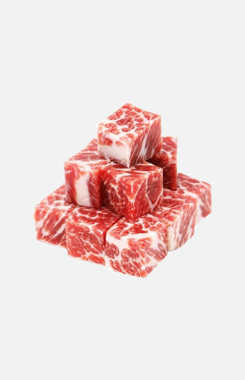 US Grain-Fed Prime Diced Beef Chuck(200g)