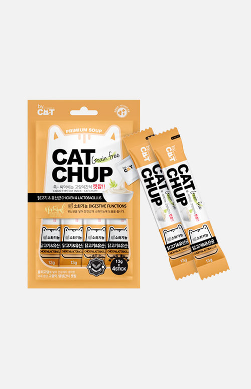 Cats Snack (Chicken & Lactpnacillus) 13g x 4packs