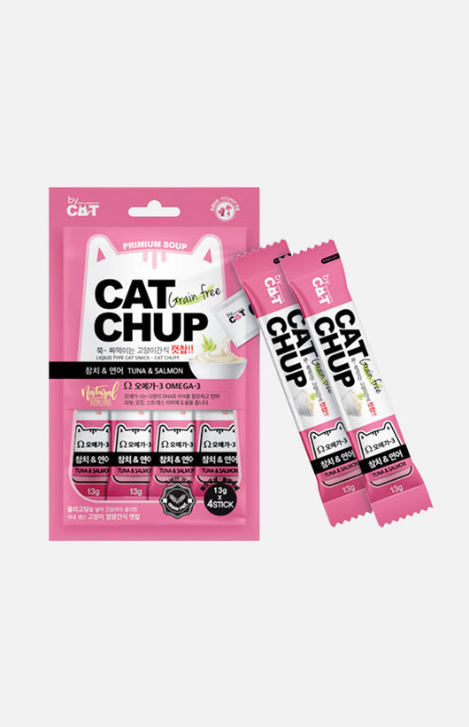 CAT CHUP Cats Snack (Tuna & Salmon) 13g x 4packs