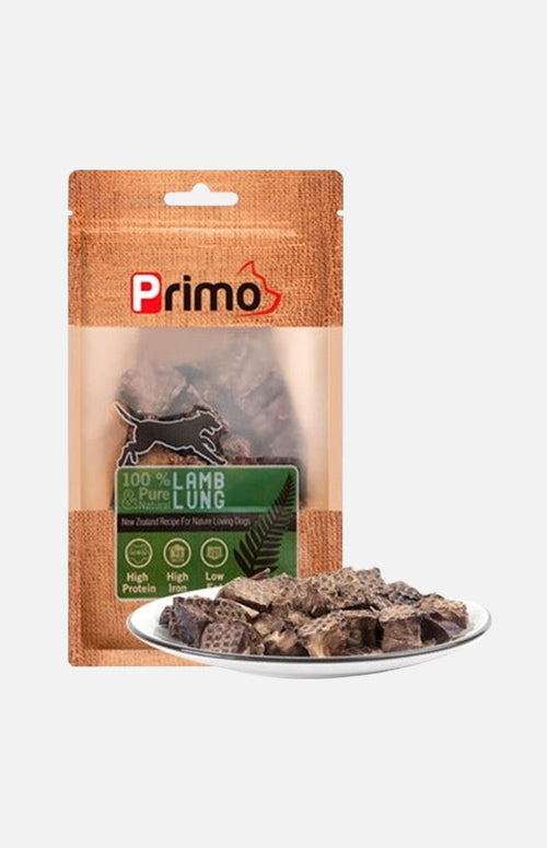 Primo Lamb Lung (For dogs)
