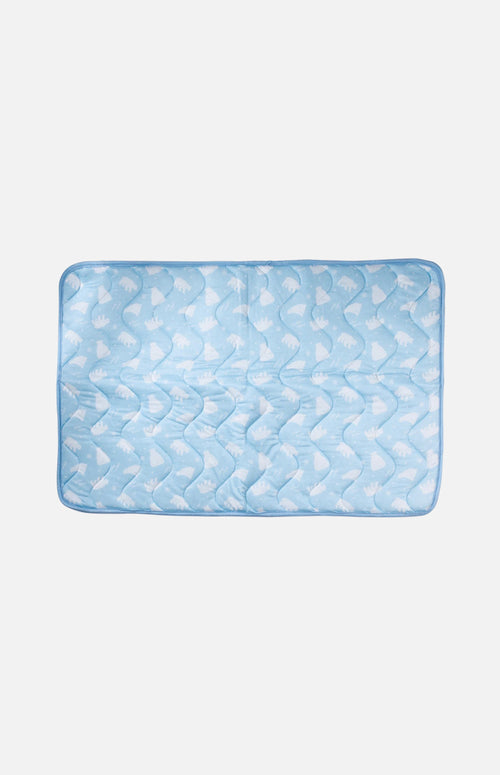 Cool Touch Summer Mat for Dog-Blue-M(45 x 60cm)