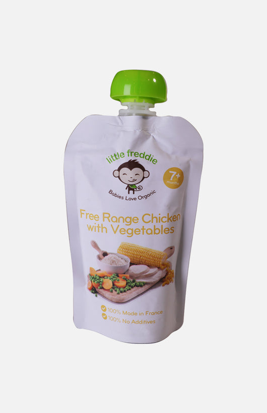 Little Freddie Organic Free Range Chicken & Vegetables Medley