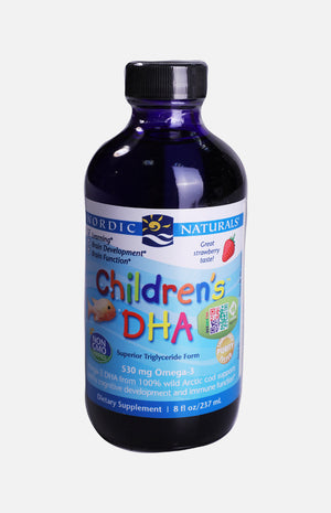 Nordic Naturals Children's DHA (Strawberry Flavor)