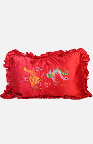 Emb'd Satin Pillow Cases