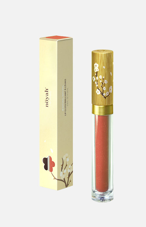 noyah Lip Gloss (Summertime Peach)