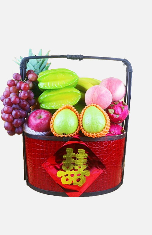 Import Fruit Basket Hamper(6 items)