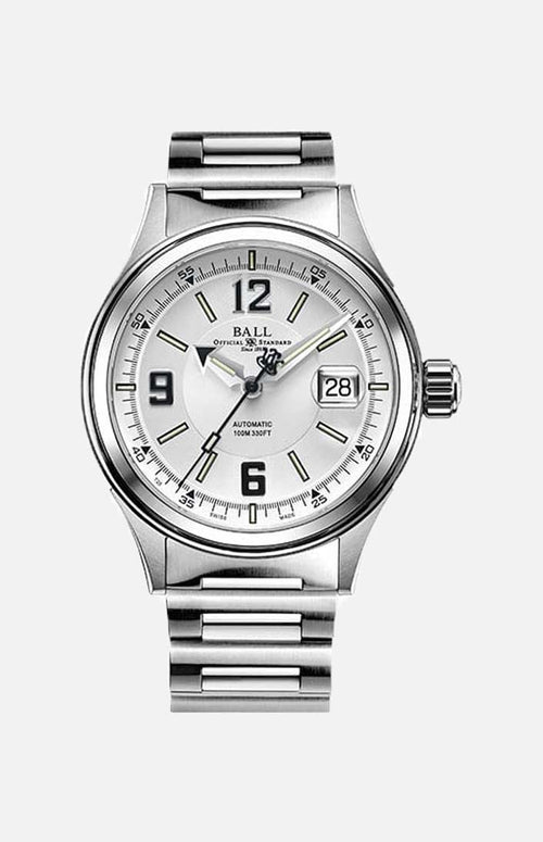 Ball Automatic Watch RR1103-WHBK