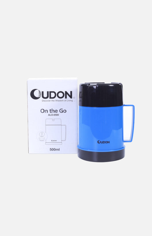 Oudon Glass Vacuum Insulated Food Pot (500ml)