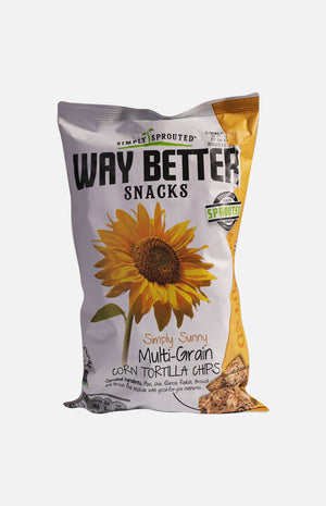 Way Better Snacks Multi-Grain Corn Tortilla Chips