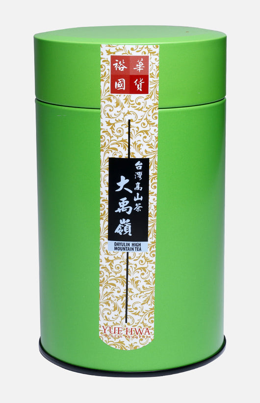 Yue Hwa Taiwan Da Yu Lin High Mountain Oolong Tea (150g/tin)