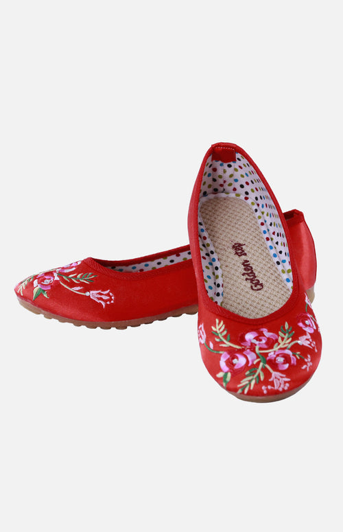 Silk Embroidere Shoe (E)