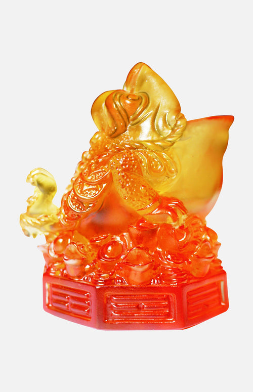 Vintage glass Toad