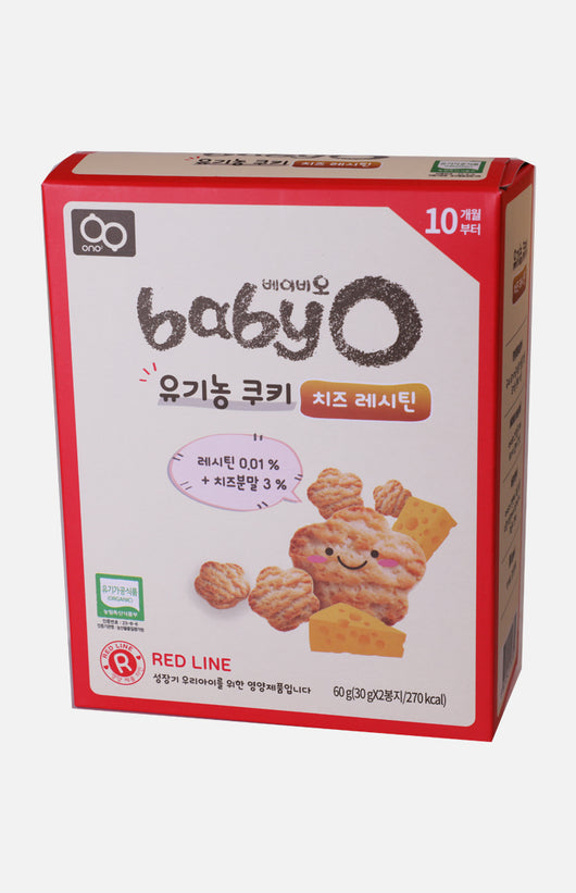 Baby'O Organic Cookie (Cheese+Lecithin)