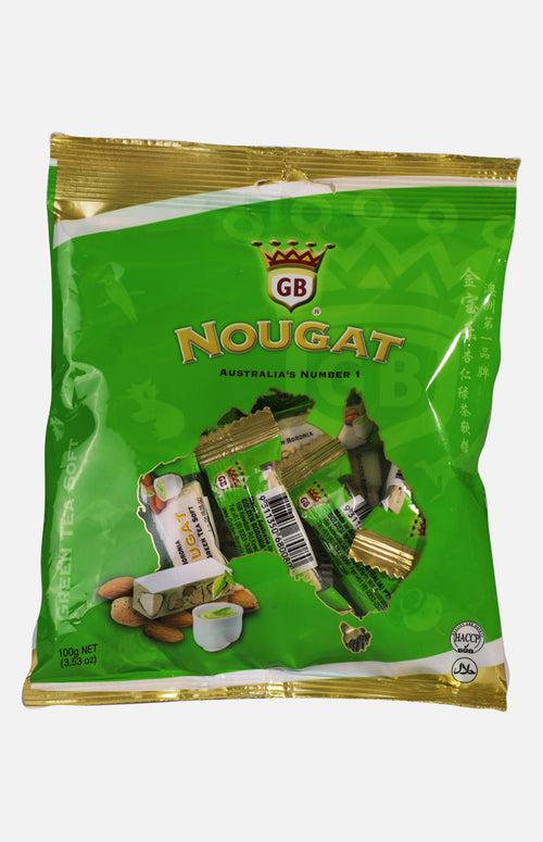 Australia Golden Boronia Green Tea Soft Nougat (100g)