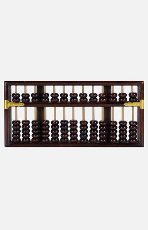 Wooden Chinese Abacus (Middle)