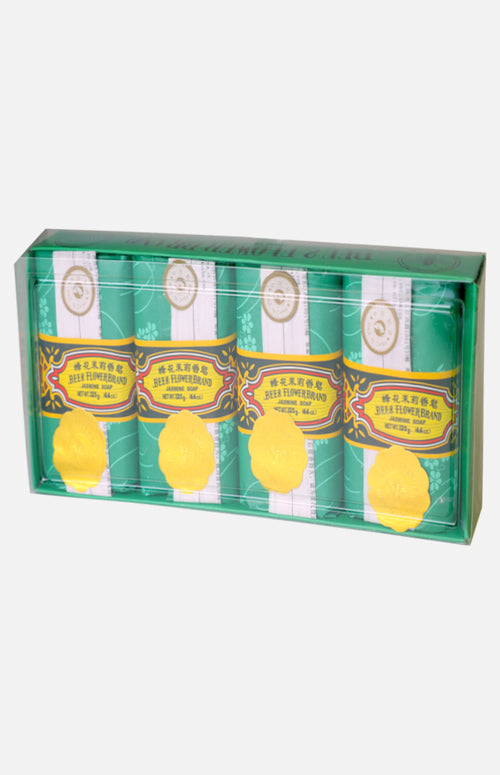 Bee & Flower Sandalwood Soap- Jasmine fragrance (4pcs)